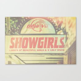 Hollywood Strip Club Canvas Print