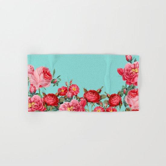 Fab Floral Hand & Bath Towel