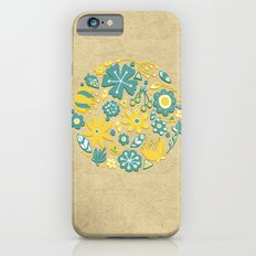 Little Flower Circle iPhone 6s Slim Case
