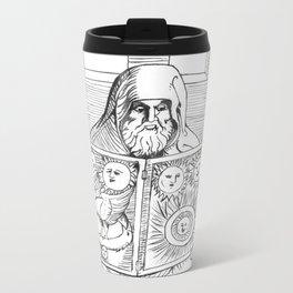 The Way to Penetrate Illusion Metal Travel Mug