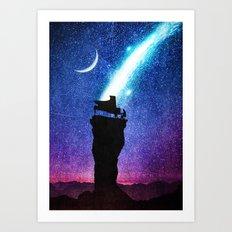A Symphony for the Stars Art Print