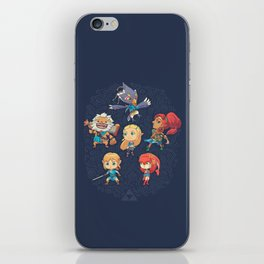 The Cuteness Ballad iPhone Skin