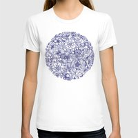 butterfly T-shirts featuring Circle of Friends by micklyn