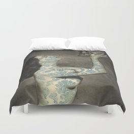 Kiss Me Deadly Duvet Cover