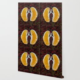 Orange revolve Wallpaper