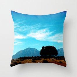 Spanish Peaks Throw Pillow