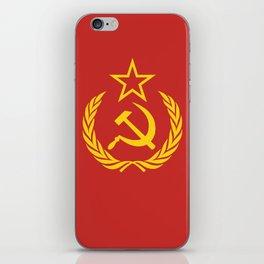Communist Cold War Flag iPhone Skin