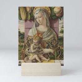 Madonna and Child Carlo Crivelli Mini Art Print