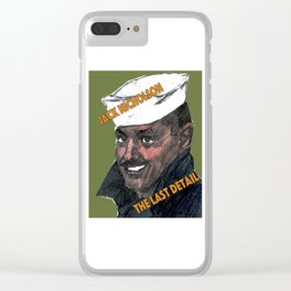 The Last Detail Clear iPhone Case