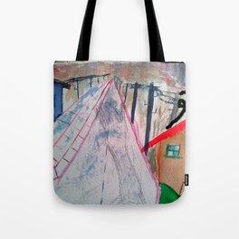 Halte Dich Fest Tote Bag