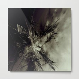 Within the light Metal Print