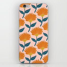 Floral_pattern iPhone Skin