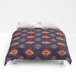 70's Geometric 2 Comforters
