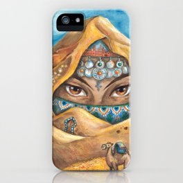 DESERT NYMPH iPhone Case