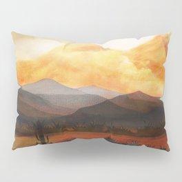 Desert in the Golden Sun Glow Pillow Sham