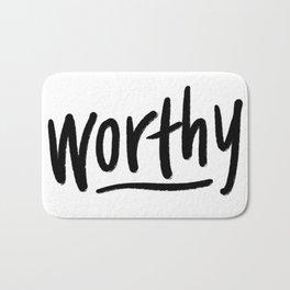 Worthy Bath Mat