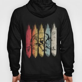 Vintage Anteater Lover Retro Style Silhouette Gift graphic Hoody