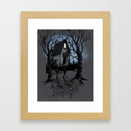 House of Baba Yaga Framed Art Print