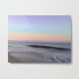 Light Pastel Seascape 2 Metal Print