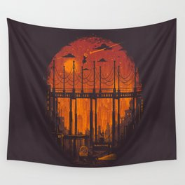 The Star Hunter Wall Tapestry