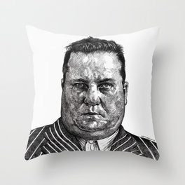MR BIGGZ Throw Pillow