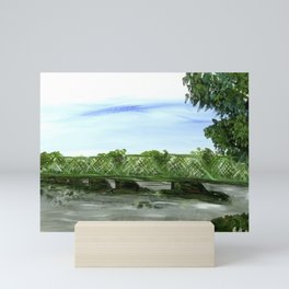New Hope Lambertville Bridge Mini Art Print