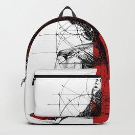 Red Lines. T. Golden Ratio. Baphomet. Yury Fadeev Backpack