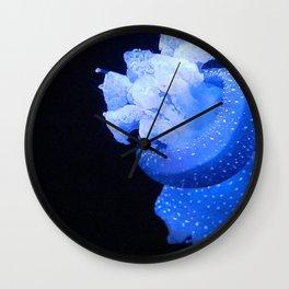 Tropical Jellyfish Wall Clock