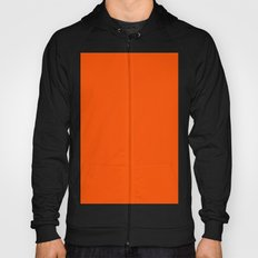 International orange (aerospace) Hoody