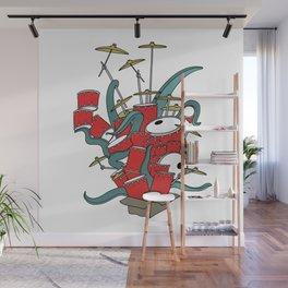 OctoDrummer Wall Mural