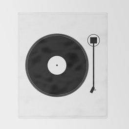 gramofon Throw Blanket