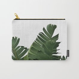 Minimal Banana Leaves Carry-All Pouch