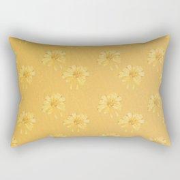 Yellow Orange Bows Rectangular Pillow