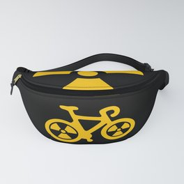 Radioactive Bicycle Fanny Pack
