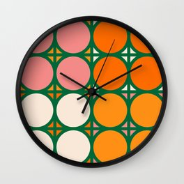 Buttercup Connection Wall Clock