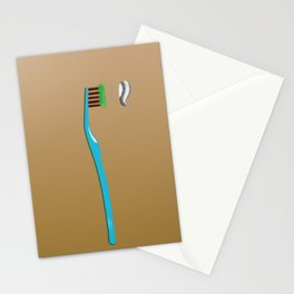 toothbrush Stationery Cards