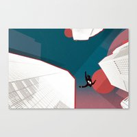 mad men Canvas Prints featuring Mad Men by PIXERS