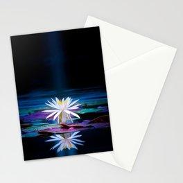 Moonlit Lotus Stationery Cards