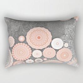 FESTIVAL FLOW BLUSH SUNSHINE Rectangular Pillow