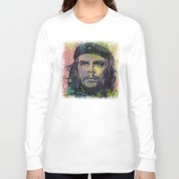 che Long Sleeve T-shirts featuring Che Guevara by Michael Creese