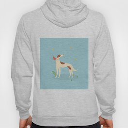 Borzoi And Butterfly Hoody
