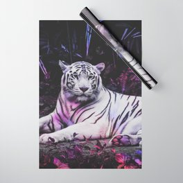 Tiger Tiger Burning Bright Wrapping Paper