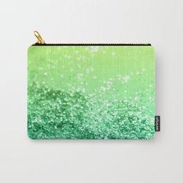 Tropical Beach Lady Glitter #3 #shiny #decor #art #society6 Carry-All Pouch