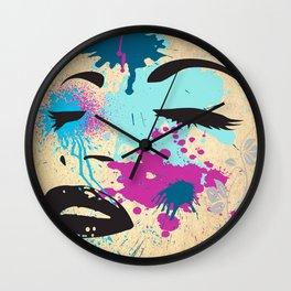 Dream Pillow Wall Clock