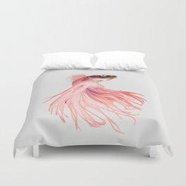 Betta splendens Duvet Cover