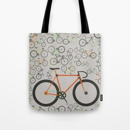 Fixed gear bikes Tote Bag