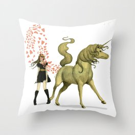 #NoFilter Valentine  Throw Pillow