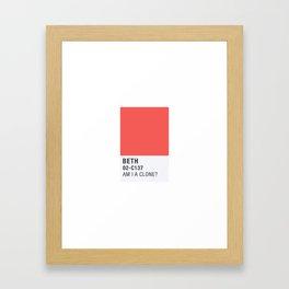 Pantone - Froopyland Framed Art Print