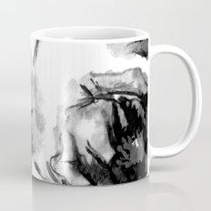 Flora Black Mug