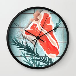 The Race to Find Meatless Protein Products Wall Clock